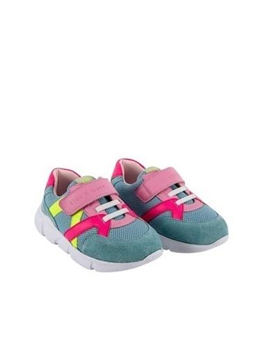 Kids A More Stranger Cırtlı Ve Lastikli Kız Çocuk Sneaker Açık  Mavi